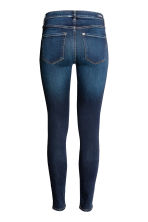 Shaping Skinny Regular Jeans - Dark denim blue rugged rinse - Ladies | H&M 3
