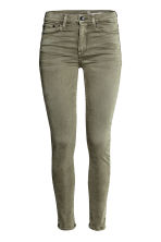 Shaping Skinny Regular Jeans - Khaki green -  | H&M CN 3