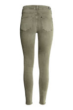 Shaping Skinny Regular Jeans - Khaki green -  | H&M CN 4