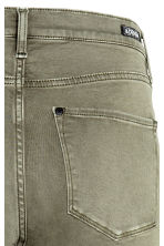 Shaping Skinny Regular Jeans - Khaki green -  | H&M CN 5