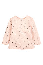 2-pack long-sleeved tops - Powder pink -  | H&M CN 2