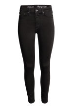 Shaping Skinny High Jeans - Black/No fade black - Ladies | H&M CN 3