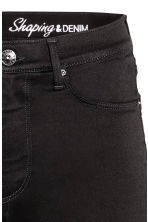 Shaping Skinny High Jeans - Black/No fade black - Ladies | H&M 4