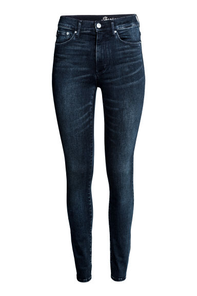 Shaping Skinny High Jeans - Bleu denim foncé - FEMME | H&M BE