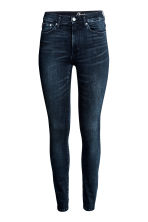 Shaping Skinny High Jeans - Dark denim blue - Ladies | H&M CN 3