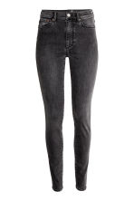 Shaping Skinny High Jeans - Dark grey denim - Ladies | H&M CN 2