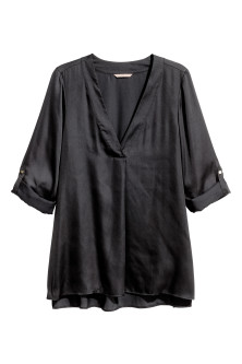 H&M+ V-neck blouse