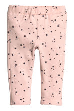 Treggings - Light pink/Stars - Kids | H&M CN 1