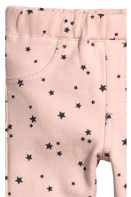Treggings - Light pink/Stars - Kids | H&M CN 3