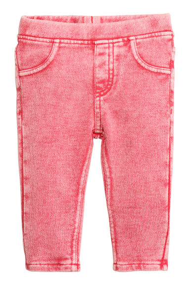 Treggings - Raspberry washed out - Kids | H&M CN 1