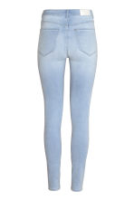 Super Skinny High Jeggings - 浅牛仔蓝 - Ladies | H&M CN 2