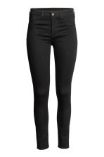 Skinny Regular Ankle Jeans - Black denim - Ladies | H&M CN 3