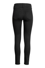 Skinny Regular Ankle Jeans - Black denim - Ladies | H&M 3