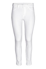 Skinny Regular Ankle Jeans - White - Ladies | H&M CN 2