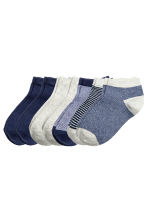 7-pack trainer socks - Dark blue - Kids | H&M CN 2