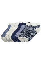 7-pack trainer socks - Dark blue - Kids | H&M CN 1