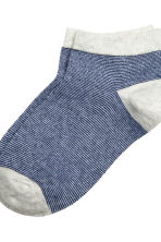 7-pack trainer socks - Dark blue - Kids | H&M CN 3