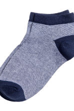 7-pack trainer socks - Dark blue - Kids | H&M CN 4
