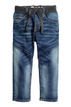 Tapered Jeans - Dark denim blue - Kids | H&M CN 2