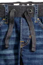 Tapered Jeans - Dark denim blue - Kids | H&M CN 5