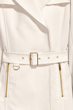Short coat - Light beige - Ladies | H&M CN 3