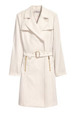 Short coat - Light beige - Ladies | H&M CN 2