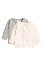 2-pack tops  - Grey marl - Kids | H&M CN 1
