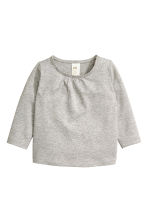 2-pack tops  - Grey marl - Kids | H&M CN 2