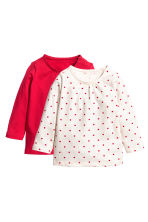 Top, 2 pz - Rosso - BAMBINO | H&M IT 1