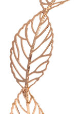 Alice band with leaves - Rose gold - Ladies | H&M CN 2