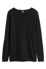 Fine-knit jumper - Black - Men | H&M CN 2