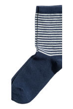 5-pack socks - Dark blue - Kids | H&M CN 4