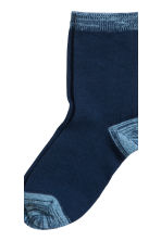 5-pack socks - Light blue - Kids | H&M CN 4