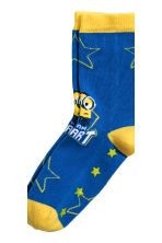 5-pack anti-slip socks  - Yellow/Minions - Kids | H&M CN 5