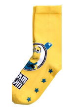 5-pack anti-slip socks  - Yellow/Minions - Kids | H&M CN 4