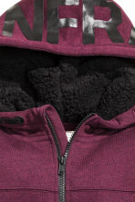 Hooded jacket - Burgundy - Kids | H&M CN 4