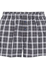 Boxer, 3 pz - Nero/quadri - UOMO | H&M IT 4
