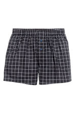 Boxer, 3 pz - Nero/quadri - UOMO | H&M IT 3