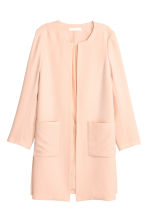 Short coat - Powder - Ladies | H&M CN 1