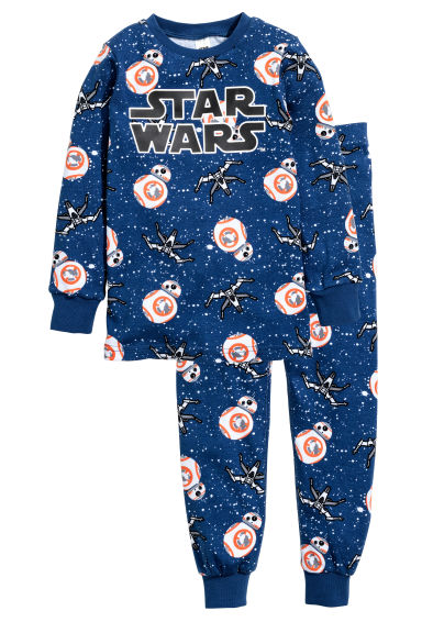 Jersey pyjamas - Blue/Star Wars - Kids | H&M CN 1