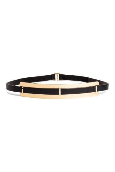 Waist belt - Black/Gold - Ladies | H&M CN 1