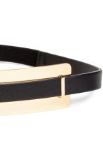 Waist belt - Black/Gold - Ladies | H&M CN 2
