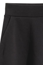A-line jersey skirt - Black - Ladies | H&M CN 3