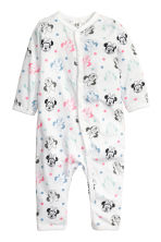 2-pack all-in-one pyjamas - Grey marl/Minnie Mouse -  | H&M CN 2