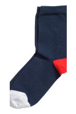 7-pack socks - Dark blue - Kids | H&M CN 3