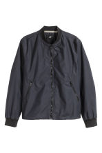 Bomber in misto nylon - Blu scuro - UOMO | H&M IT 2