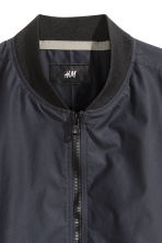 Bomber in misto nylon - Blu scuro - UOMO | H&M IT 3