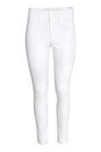 Skinny High Ankle Jeans - White - Ladies | H&M CN 2