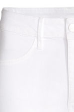 Skinny High Ankle Jeans - White - Ladies | H&M CN 6