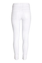 Skinny High Ankle Jeans - White - Ladies | H&M CN 4